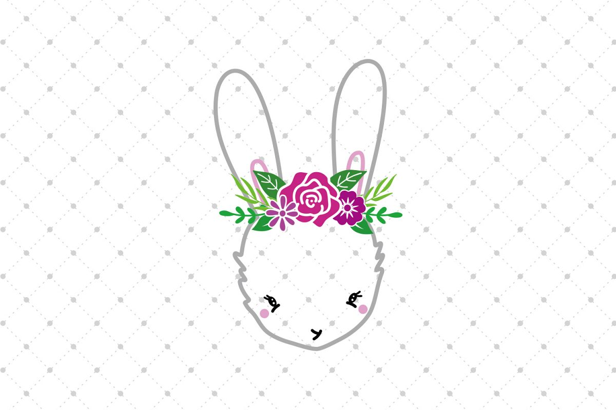 Bunny SVG Cut Files example image