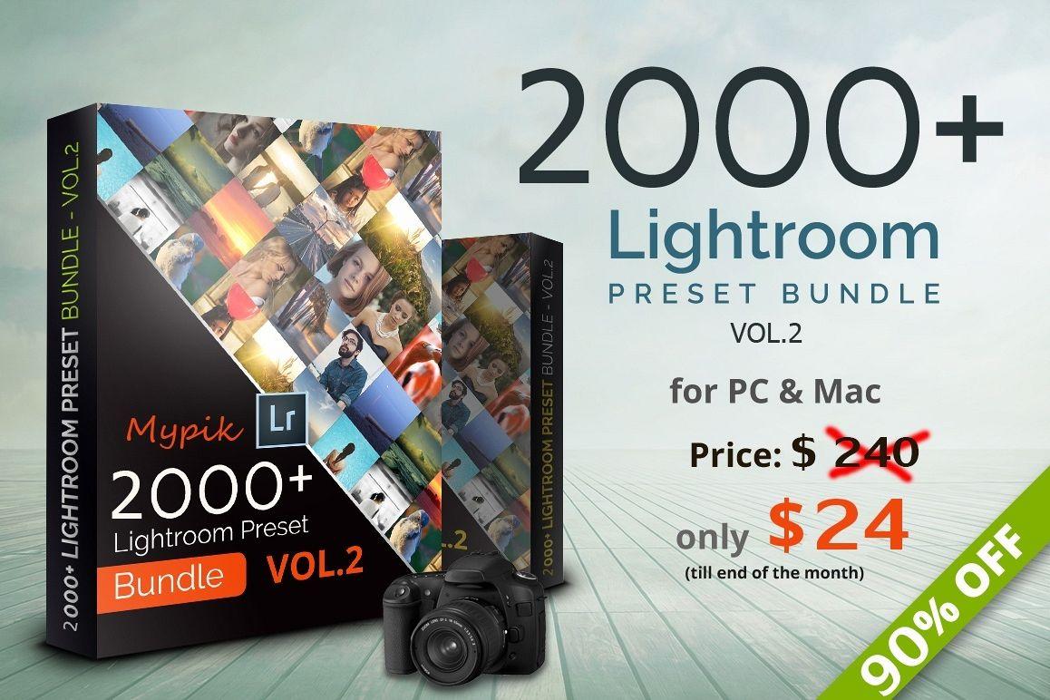 2000 Lightroom Presets Bundle example image