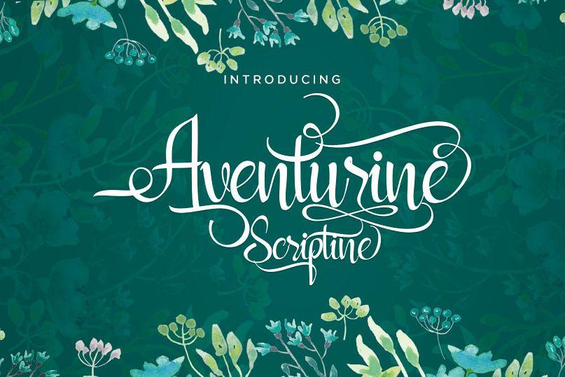 Aventurine Scriptine example image