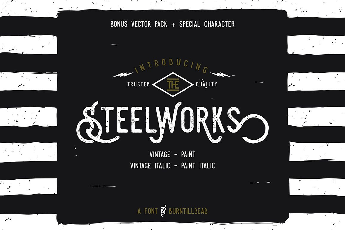 Steelworks + Bonus (20% OFF) example image