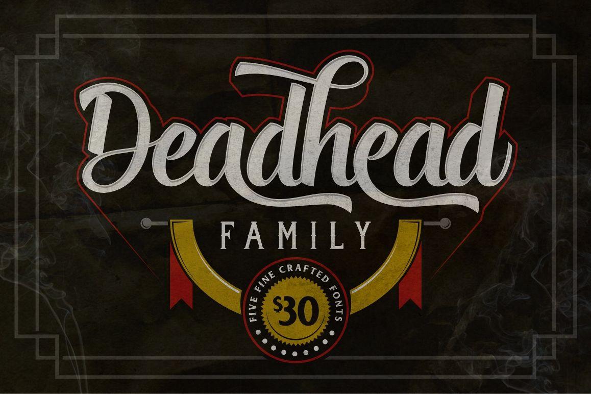 Deadhead Typeface Family example image
