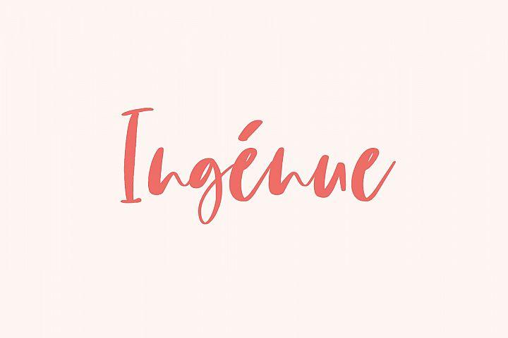 Ingénue Font