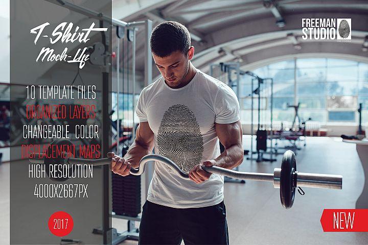 Sport T-Shirt Mock-Up Vol.2 2017