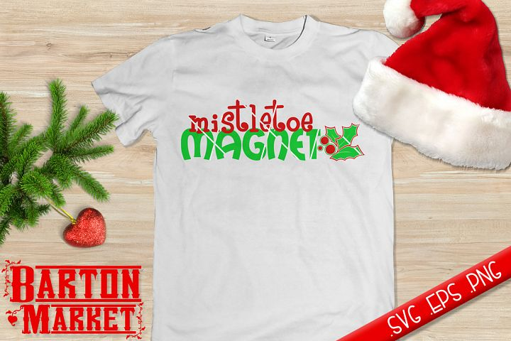 Mistletoe Magnet (v2) SVG / EPS / PNG