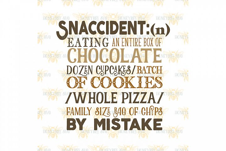 Snaccident Definition svg