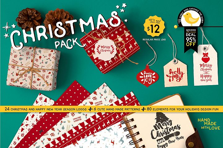 INTRO SALE 95% OFF! NEW Christmas quotes pack