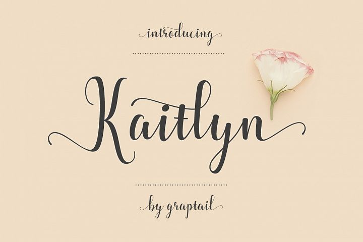 Kaitlyn Script - Free Font of The Week