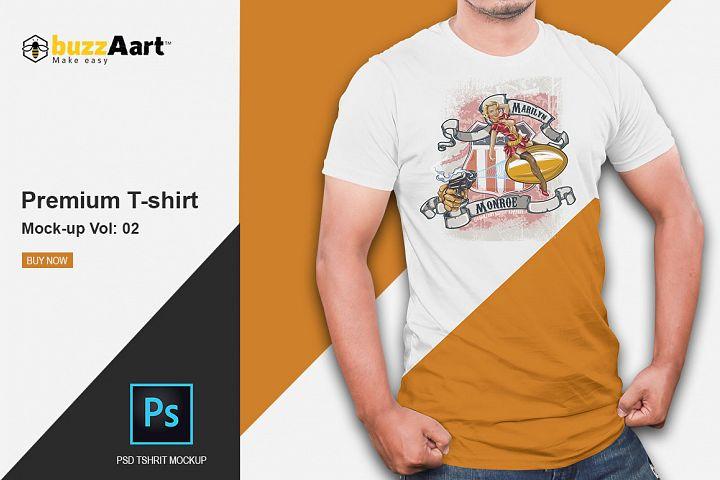 Premium Tshirt mockup Vol: 2
