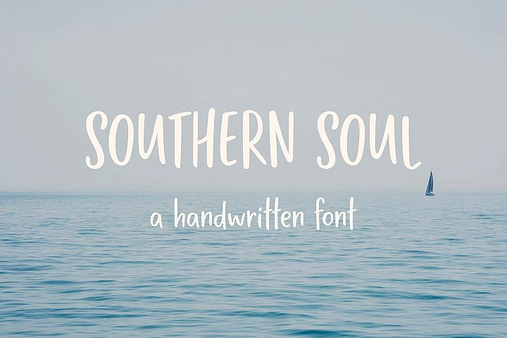 Southern Soul   Handwritten font