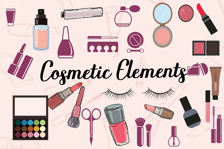 cosmetic elements,cosmetic clipart,cosmetics,cosmetic,cosmetic illustratios,makeup,makeup elements,makeup clipart