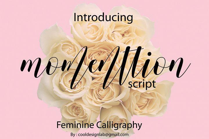 momenttion script