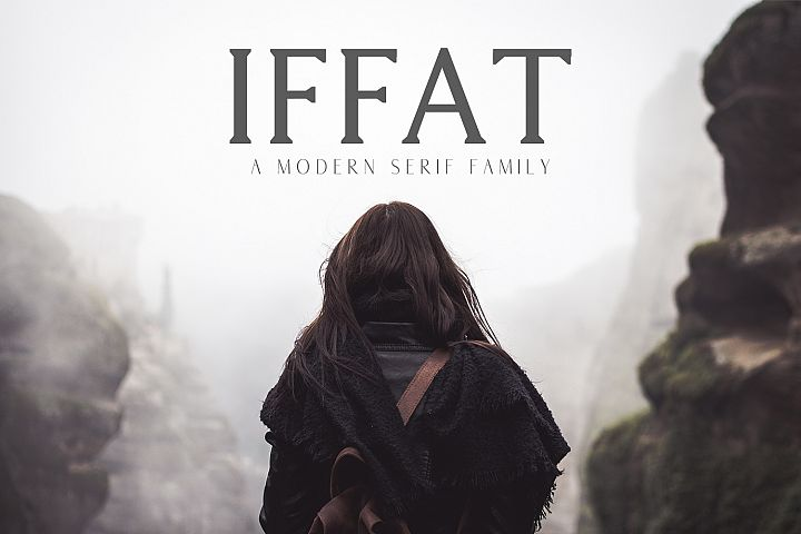 Iffat A Modern Serif Family
