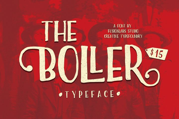 The Boller Typeface - Free Font of The Week