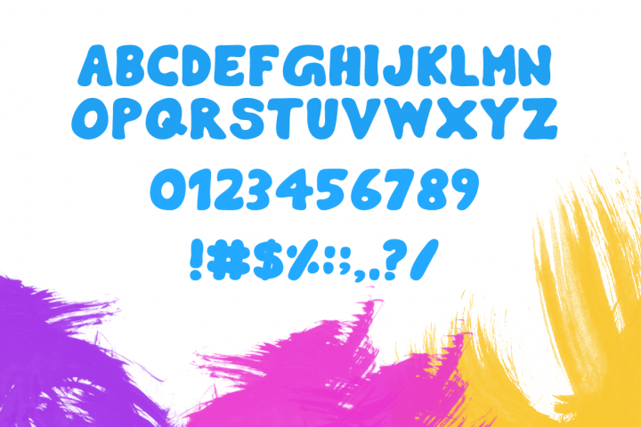 Burly Typeface - Free Font of The Week Design 1