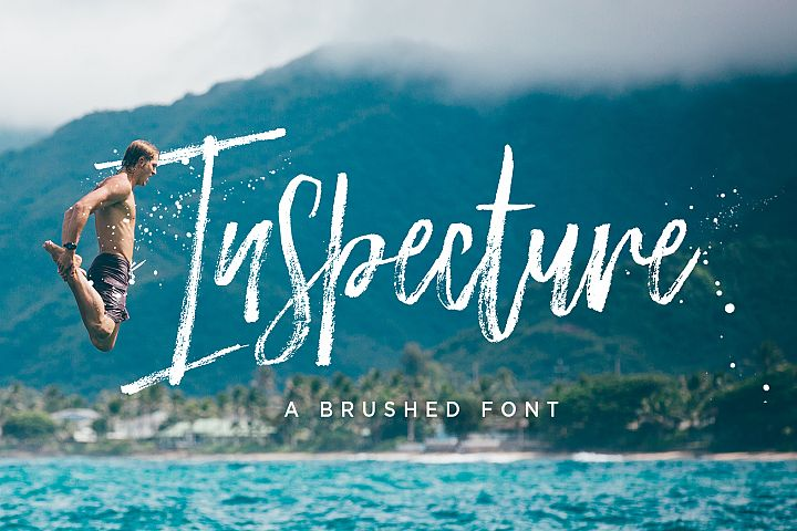 Inspecture Brush Font