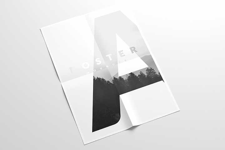 A4 Flyer Mock-Up