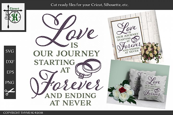 Love is Our Journey Digital Design