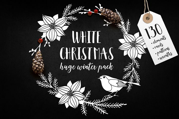 White Christmas set