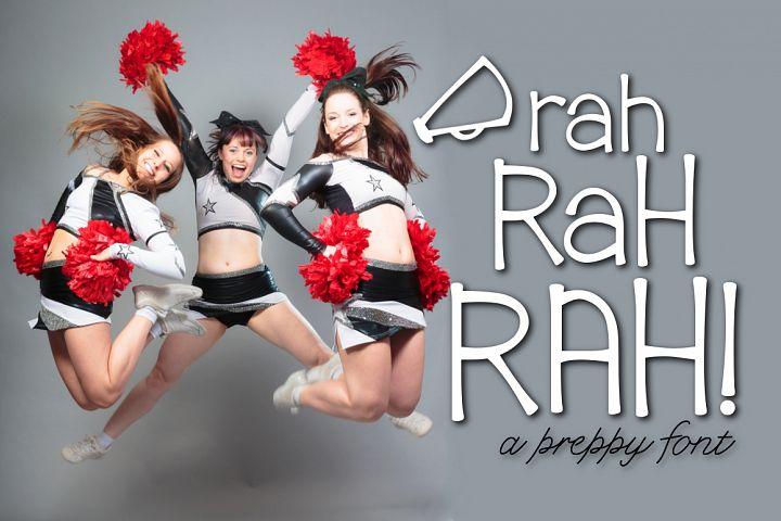 Rah Rah Rah a Preppy Font