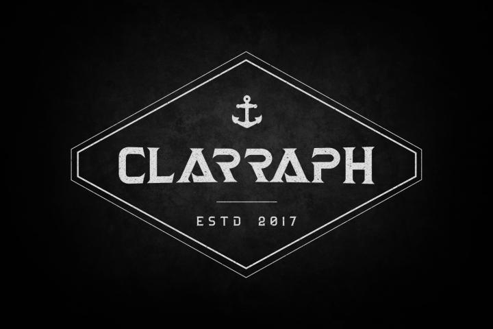 Clarraph Typeface