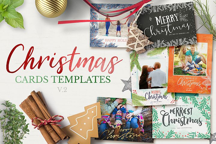 Christmas Cards Template v2