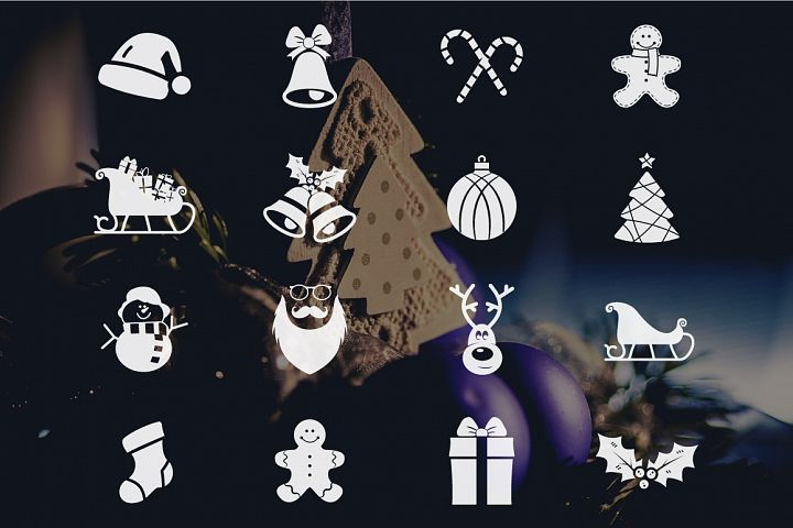 Christmas Icons Collection example 2