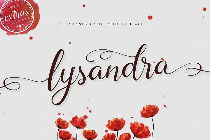 Lysandra Script Typeface