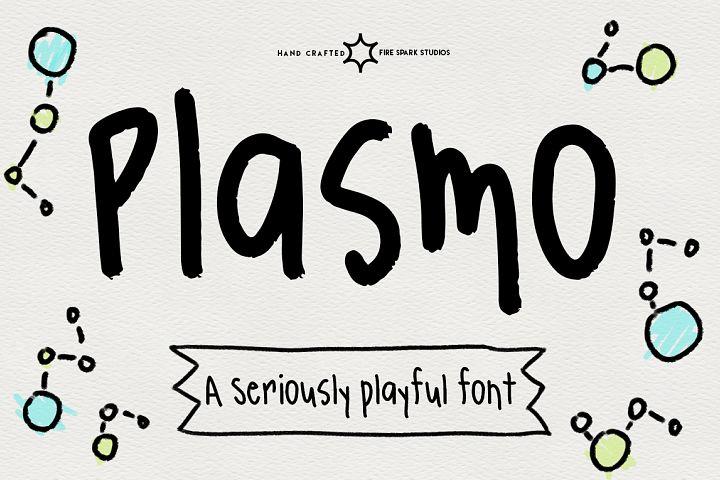 Plasmo - Hand Written Font