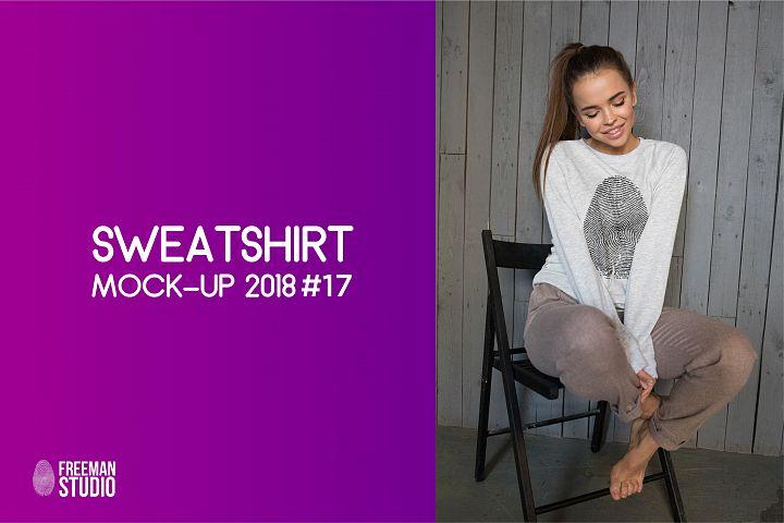 Sweatshirt Mock-Up 2018 #17