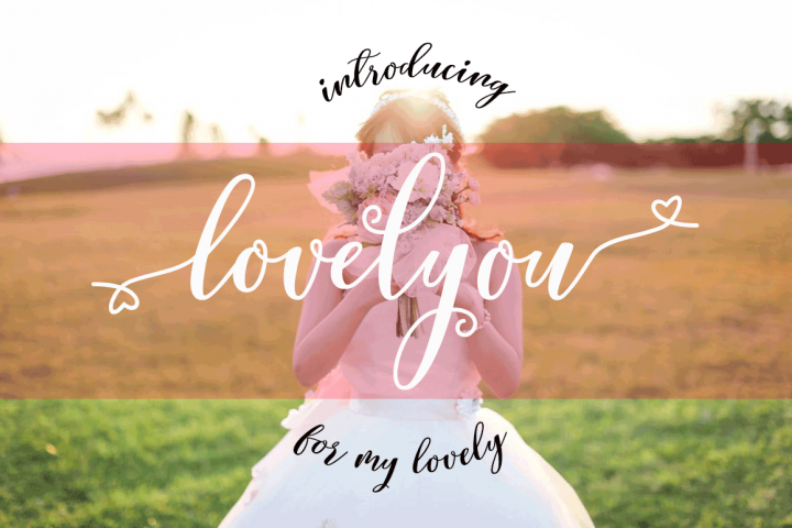 Lovelyou - Free Font of The Week