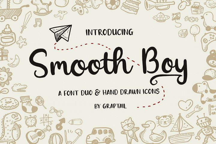 Smooth Boy - Fonts & Icons