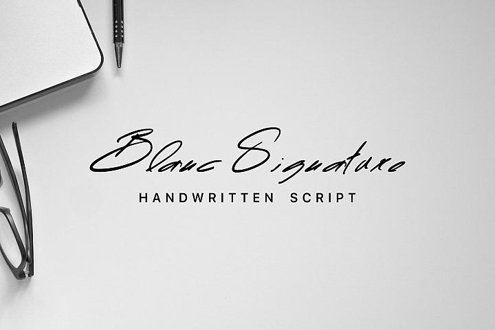 Blanc Signature