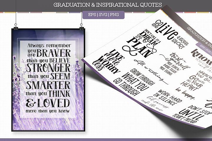 Grad & Inspirational