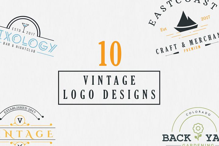 10 Vintage Logo Designs example 1