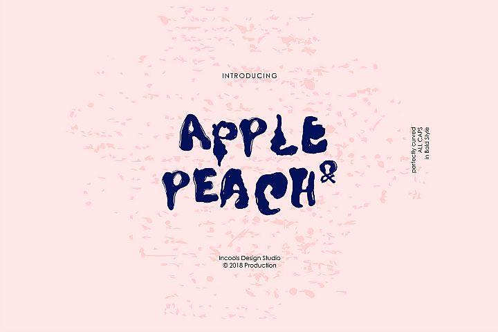 Apple and Peach - Bold