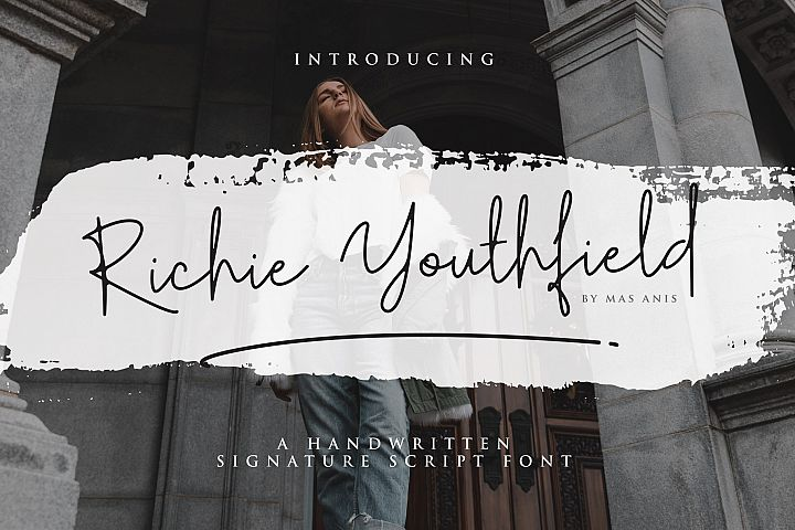 Richie Youthfield - Signature Font