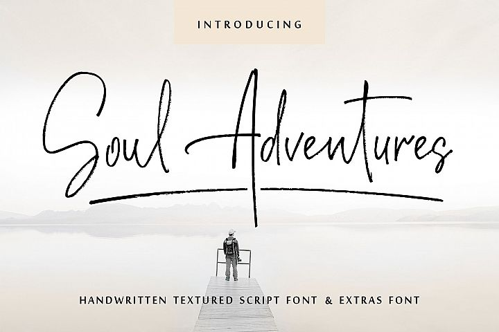 Soul Adventures script font + Extras - Mom'sbundle - Download Free Fonts