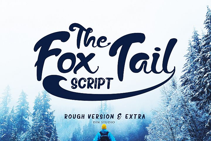 The Fox Tail - Font Duo&Extras