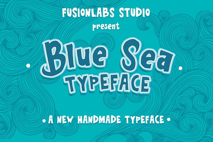 Blue Sea Typeface
