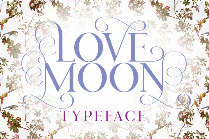 Love Moon - Free Font of The Week