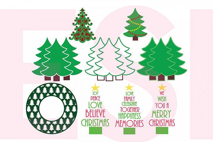Christmas Tree Design Set
