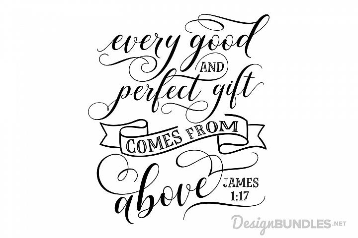 James 1 17 example 1