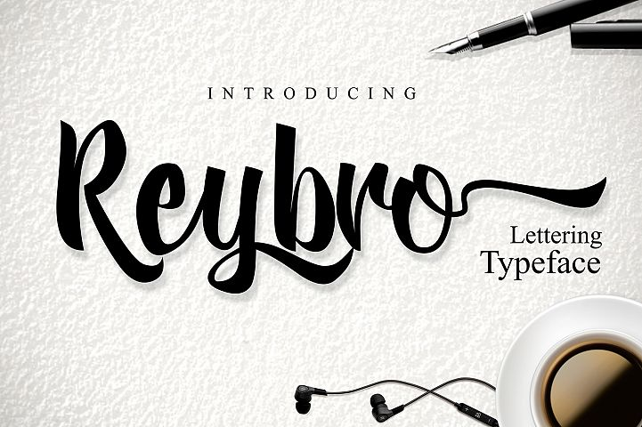 Reybro - Free Font of The Week
