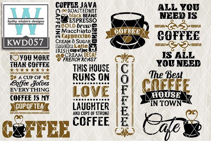 Coffee Cutting Files KWD057