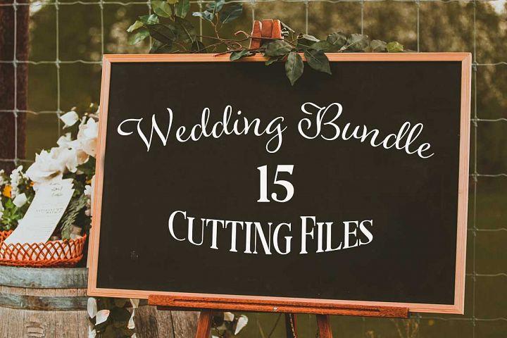 Wedding Bundle SVG cut files