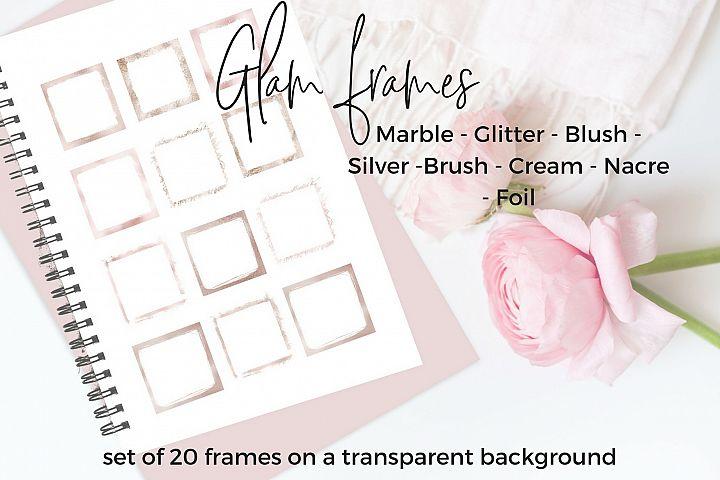 20 Glam frames