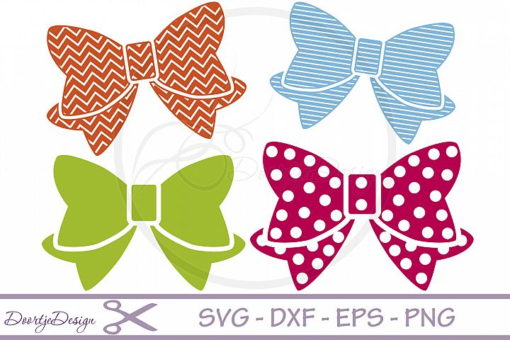 SVG files Bow 4 Cutting files
