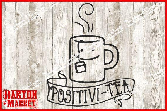 Positivi-Tea SVG / EPS / PNG