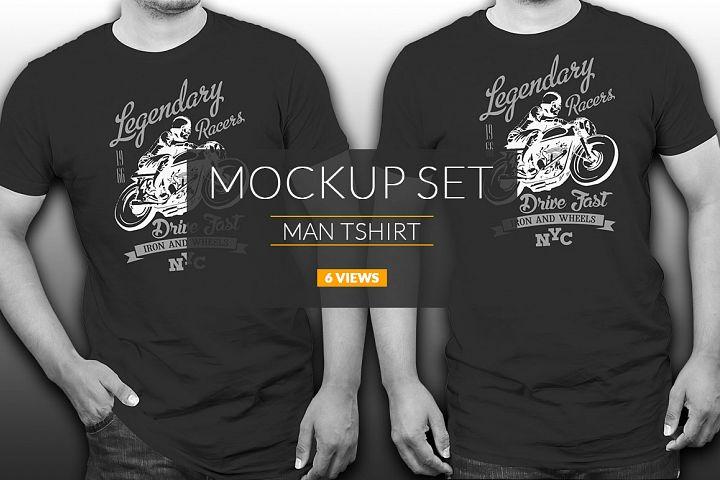 Premium Tshirt Mock-ups Vol: 1