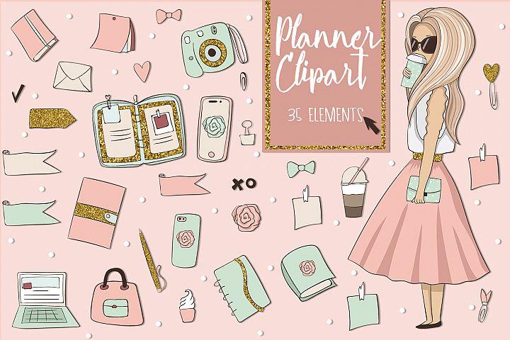 Planner Clipart